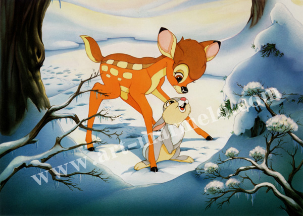 「Bambi's Winter Trail」