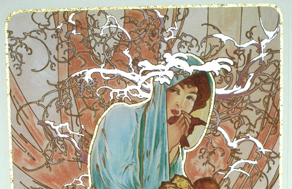 mucha「Winter」箔